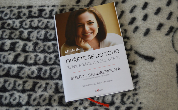 Sheryl Sandberg - Lean in. Oprete se do toho
